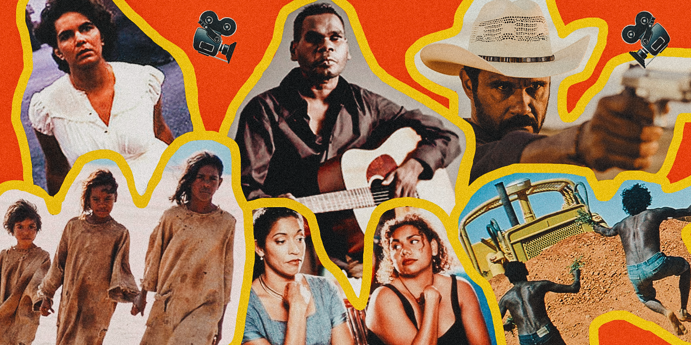 Indigenous films collage